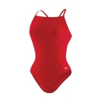 Speedo Solid PowerPLUS Cross Back Female