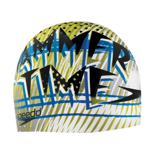 Speedo Jammer Time Silicone Swim Cap product image