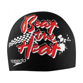 Speedo Beat The Heat Silicone Swim Cap product image