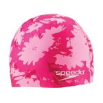 Speedo Graphic Daisy Silicone Swim Cap