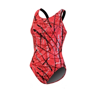 Dolfin Acer Lycra Print HP Back Female product image