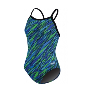 Dolfin Hydra Chloroban Print V Back Female product image