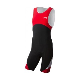 Tyr Tri Carbon Zipper Back Short John w/Pad Male product image