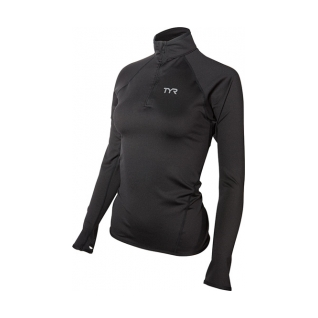 Tyr All Elements Long Sleeve 1/4 Zip Pullover Female product image