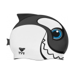 Tyr CharacTYRs Happy Whale Silicone Swim Cap
