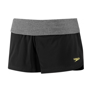 Speedo Heathered 4-Way Stretch Short Female product image
