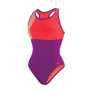 Speedo Color Block Thick Strap One Piece Suit Female product image