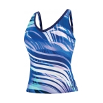 Speedo Moving Current Comfort Strap Tankini Swim Top Female