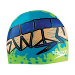 Speedo Tag Team Silicone Swim Cap