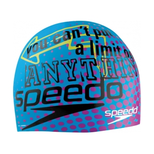Speedo No Limits Silicone Swim Cap product image