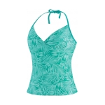 Speedo Mini Palm Halterkini Top Female