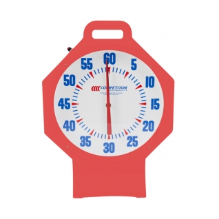 15in Pace Clock Red product image