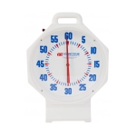 15in Pace Clock White