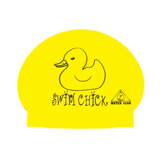 Water Gear Swim Chick Latex Swim Cap product image