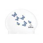 Latex Swim Cap Butterflies