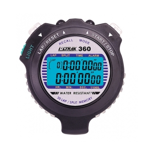 Ultrak EL Light 30 Lap Memory Stopwatch product image