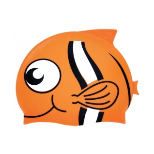Water Gear Clownfish Critter Silicone Swim Cap product image