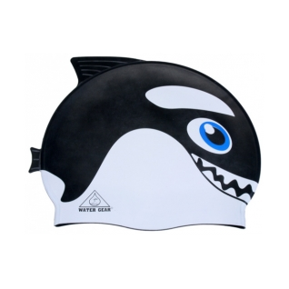Water Gear Orca Critter Silicone Swim Cap product image