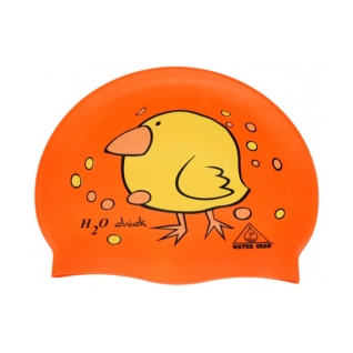 Water Gear H2O Chick Silicone Swim Cap product image