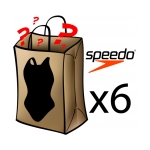 Speedo Best Grab Bag 6 Pack Female