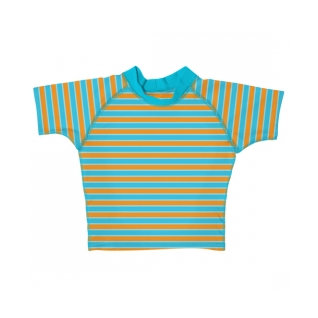 i play Short Sleeve Stripe Rashguard product image