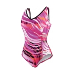 Speedo Moving Current Comfort Strap One Piece Suit Female
