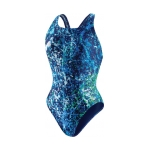 Speedo Splatter Splash Super Pro Back Female