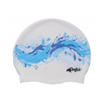Silicone Swim Cap Wave