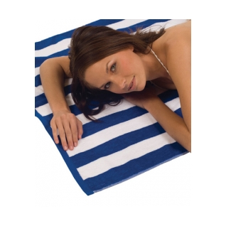 Terry Town Cabana Stripe Loop Beach Towel product image