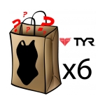 Tyr Best Grab Bag 6 Pack Female