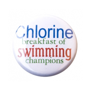 Breakfast of Swimming Champions Button product image