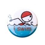 Swimming Buttons Swim Figures