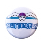 Swim Button Butterfly