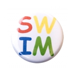 Swim Button Letters