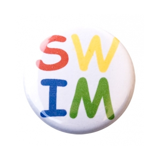 Swim Letters Button product image