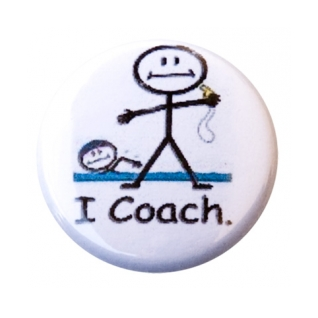 I Coach Button product image