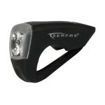 Serfas USB Silicone Rechargeable Bike Light