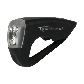 Serfas USB Silicone Rechargeable Bike Light product image