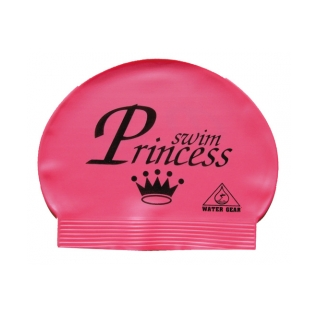Water Gear Swim Princess Latex Swim Cap product image