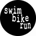 Swim Bike Run Decals