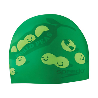 Speedo World Peas Silicone Swim Cap product image