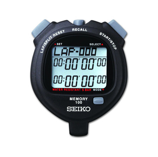 Tyr stopwatch 100 lap split