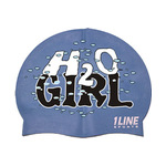 1Line Sports Swim Cap H20 Girl