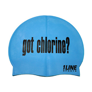 1Line Sports Got Chlorine Silicone Swim Cap product image
