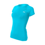 Tyr Short Sleeve Swim Shirt Female