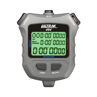 Ultrak EL Light 300 Memory 3 Line Display Stopwatch product image