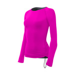 Tyr Solid Durafast Lite Long Sleeve Swim Shirt Female