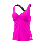 Tyr Solid Durafast Elite Halter Twist Tankini Top Female