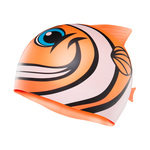 Tyr CharacTYRs Happy Fish Silicone Swim Cap