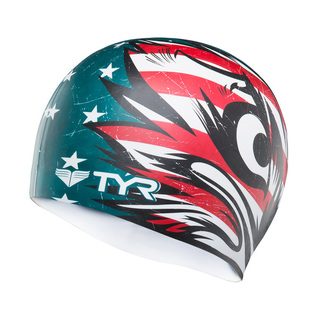 Tyr Patriot Silicone Swim Cap product image